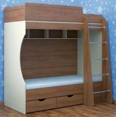 Кровать детская двухъярусная №16